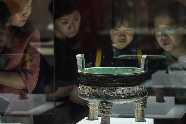 Exhibition opens to showcase China's retrieved cultural relics:null