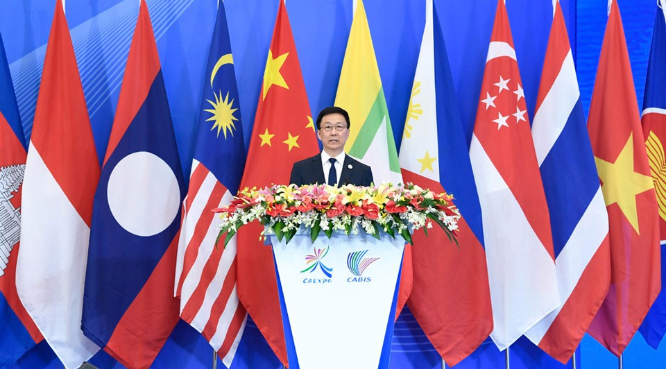 Vice-premier: China-ASEAN ties enter new stage of all-around development:2