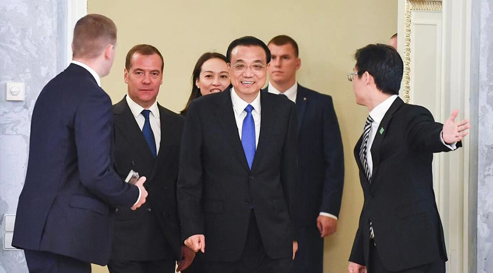 Premier visits Russia, attends China-Russia PMs' regular meeting:1