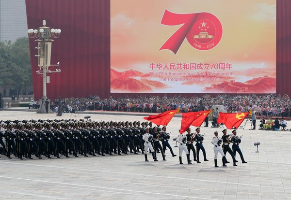 Highlights from China's National Day celebrations:null