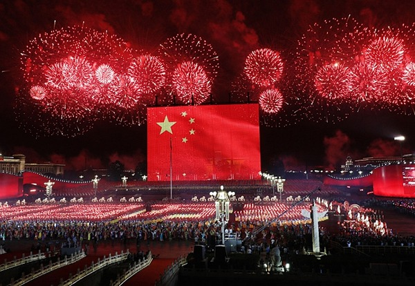 Grand evening gala held to celebrate China's 70th National Day:null