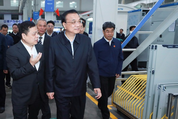 Premier Li vows policy support for industry transfer:null