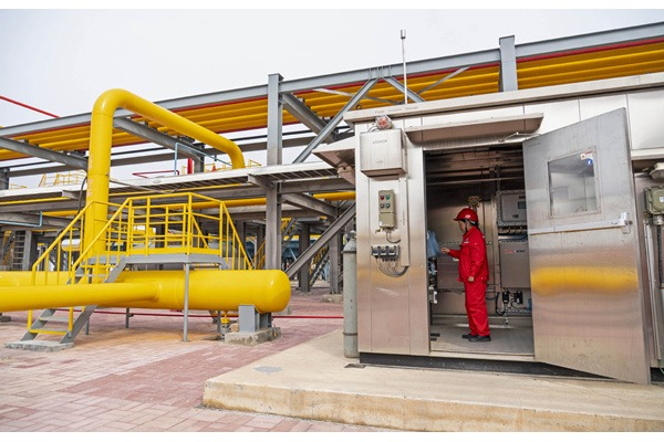 Giant gas bank in C China ready for high season:null
