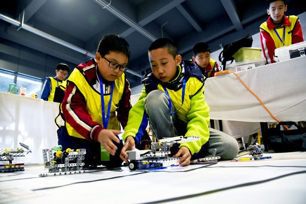 Shandong provincial contest of World Educational Robot Contest held in Rizhao:null