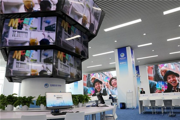 Venues for CIIE almost completed and ready to supply service:null