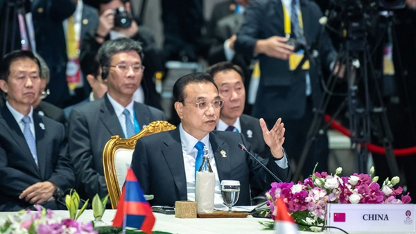 Premier Li urges China, ASEAN to uphold multilateralism, free trade:0
