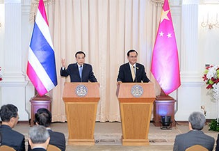 China willing to cooperate with Thailand to address challenges: Premier:0