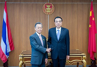 Premier Li urges closer exchanges with Thailand:1