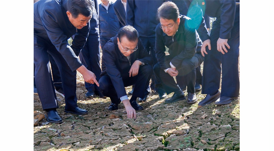 Premier Li urges reducing drought damage:2