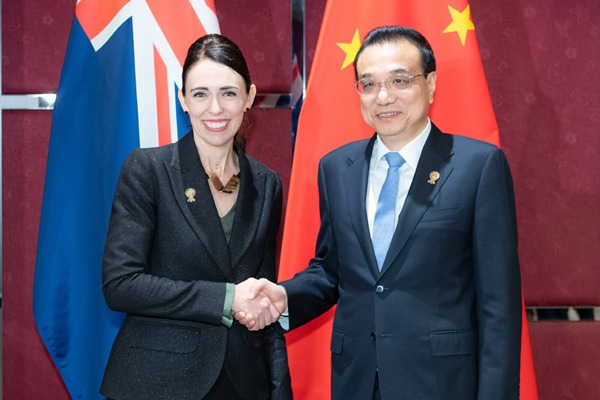 China, New Zealand welcome conclusion of FTA upgrade negotiations, pledge to enhance cooperation:null
