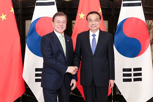 Premier meets with ROK president:null