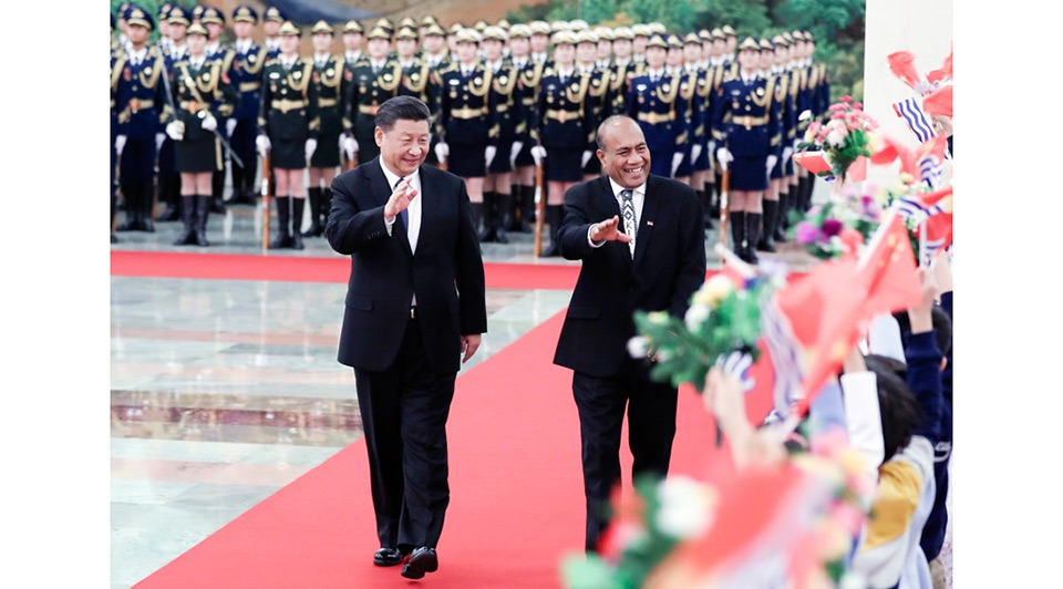 Xi: Kiribati on right side of history by resuming diplomatic ties with China:0