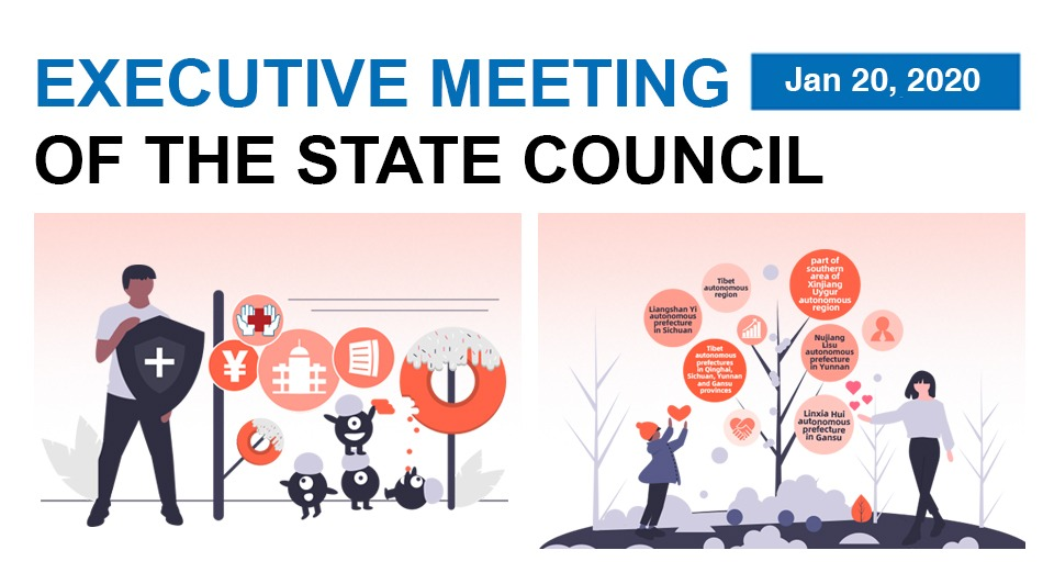 Quick view: State Council executive meeting on Jan 20:3