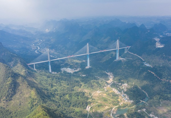 'Sky Bridge': world-class mega bridge in China:null