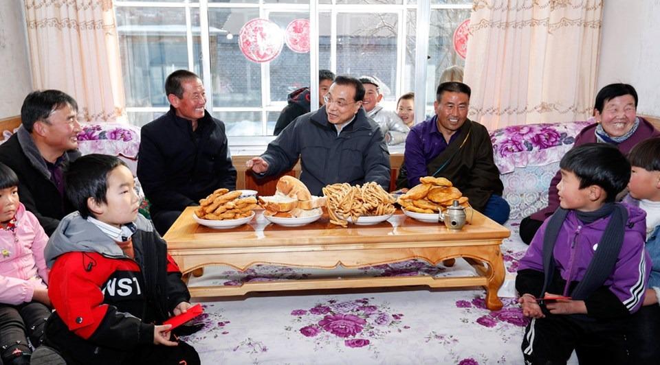 Premier Li inspects Qinghai:1