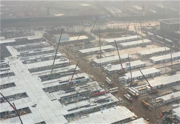 Leishenshan Hospital in Wuhan is 80% complete:null