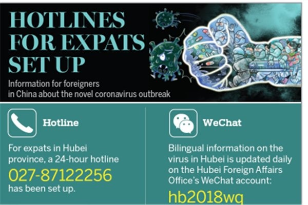 Hotlines for expats set up:null