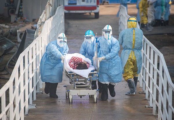 New China hospital opens in Wuhan to treat patients with coronavirus:null