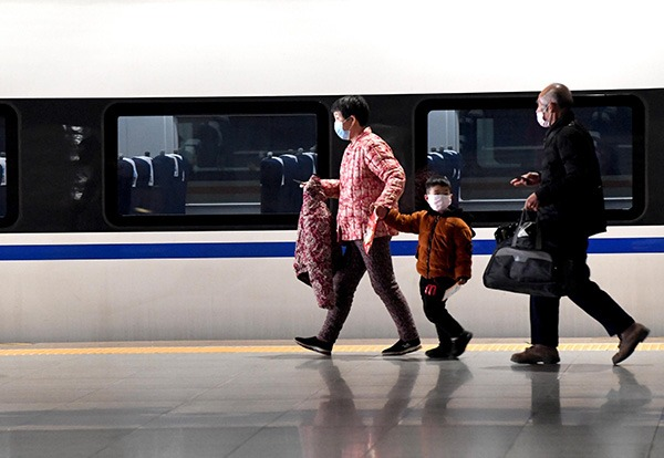 China to set quarantine areas on public transport for Spring Festival travel rush:null