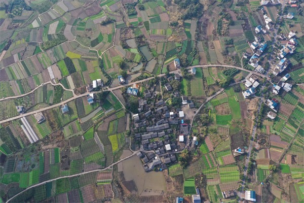 Villagers start spring ploughing in Guilin, Guangxi:null