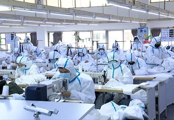 Chinese companies speed up protecting clothing production:0