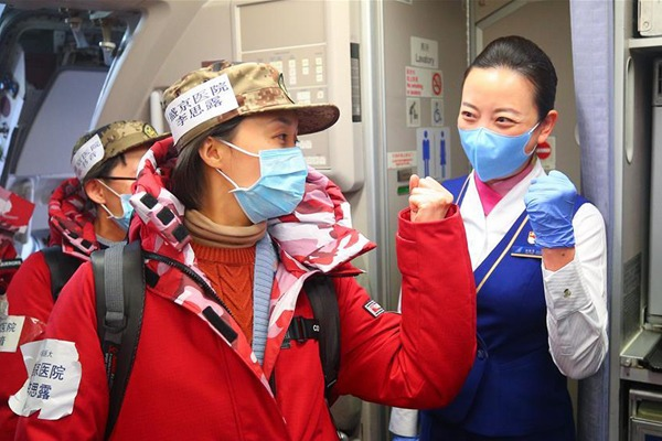 3rd batch of 100 medical members from Liaoning set off to aid coronavirus control efforts in Xiangyang:null