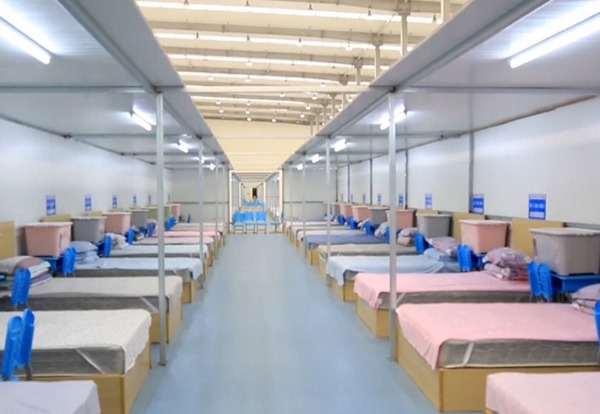 Wuhan's largest temporary hospital with 4,500 beds to open:null