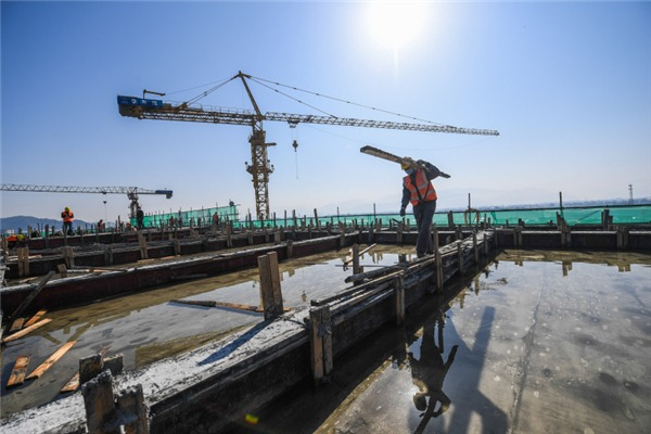 Construction of Beizhijiang Asian Games venue resumed:null