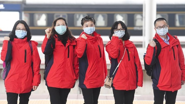 16th batch of medical staff dispatched from Chongqing to Hubei:0