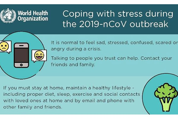 How to cope with stress during COVID-19 outbreak:null