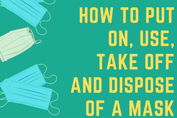 How to put on, use, take off and dispose of a mask:null