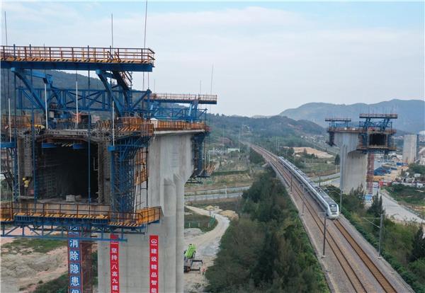 Fuzhou-Xiamen high-speed railway project resumes amid epidemic:null