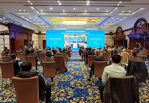 China shares its experience of combating coronavirus with other countries:null