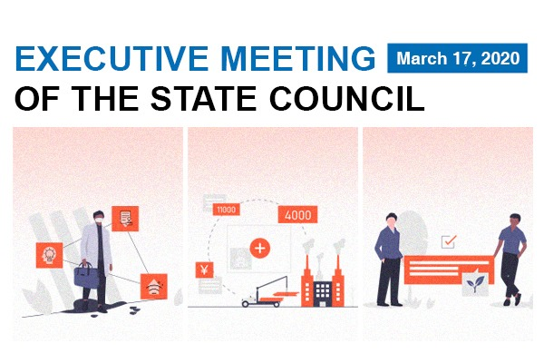 Quick view: State Council executive meeting on March 17:null