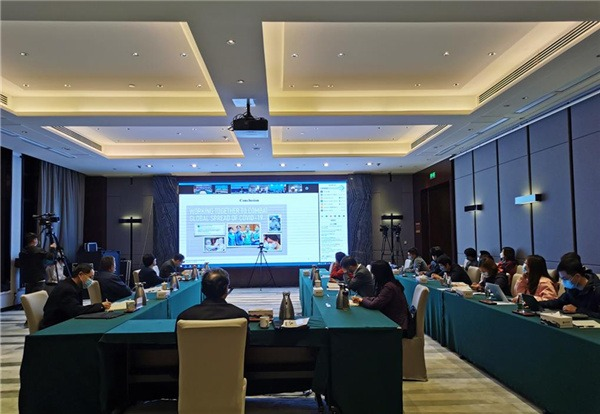 China shares COVID-19 control experience in WHO video conference:0