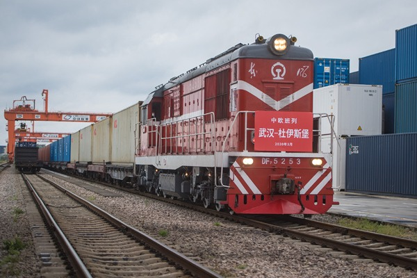 First China-Europe freight train leaves Wuhan, marking restoration of operation:null