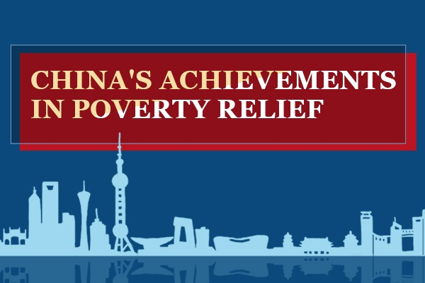 China's achievements in poverty relief:null
