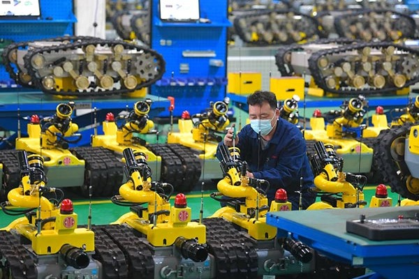 High-end equipment manufacturing companies in Tangshan resume productions with prevention measures:null