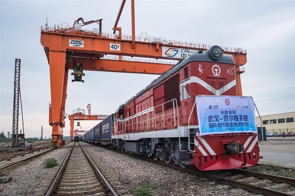 China-Europe freight train sends anti-epidemic supplies to Serbia:null