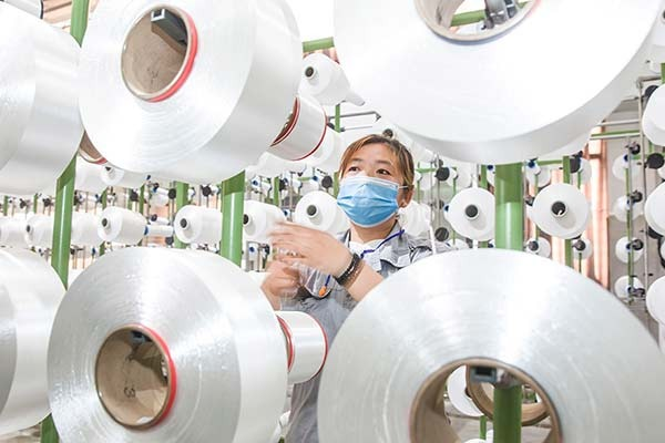 China's industrial output rises 3.9% in April:null