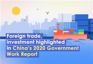 Foreign trade, investment highlighted in China's 2020 Government Work Report:2