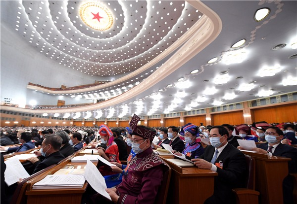 NPC deputies, CPPCC members on Government Work Report:0