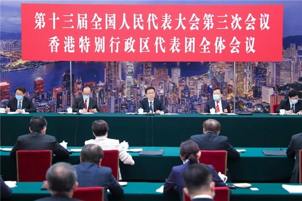 Vice-premier joins deliberations by NPC deputies from HK:null