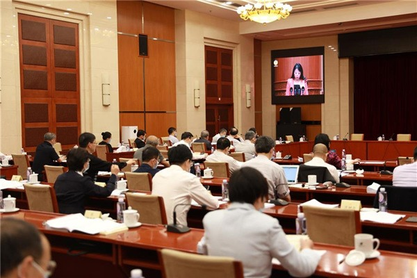 Video conference of 3rd session of 13th CPPCC National Committee held in Beijing:null
