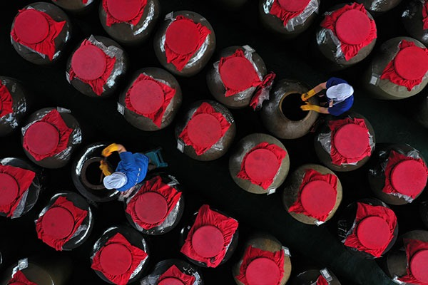 Sour soup brewing industry in Guizhou:null