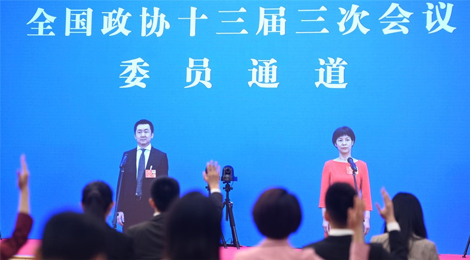 CPPCC members interviewed before closing meeting of annual session:3