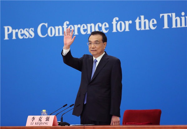 China will continue its opening-up policies, Premier Li says:0