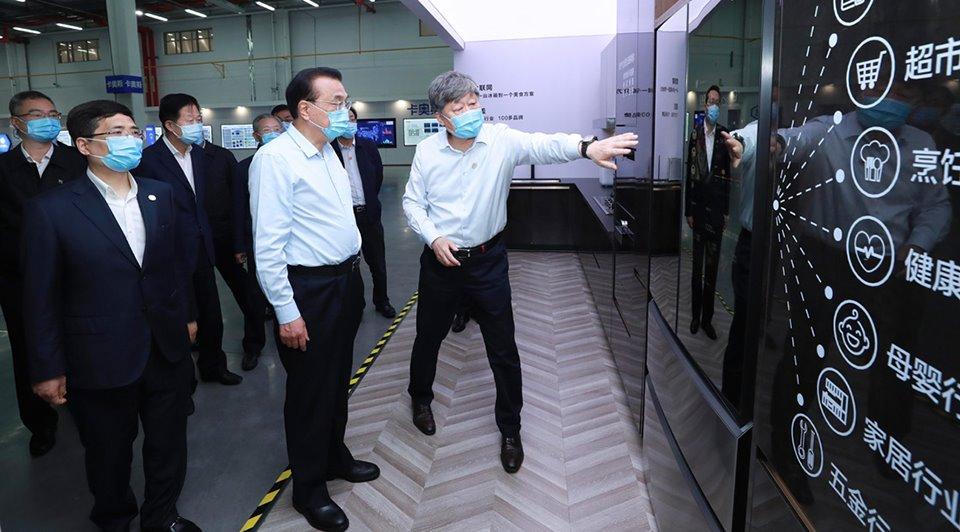 Premier Li makes special trip to enterprise in E China:2