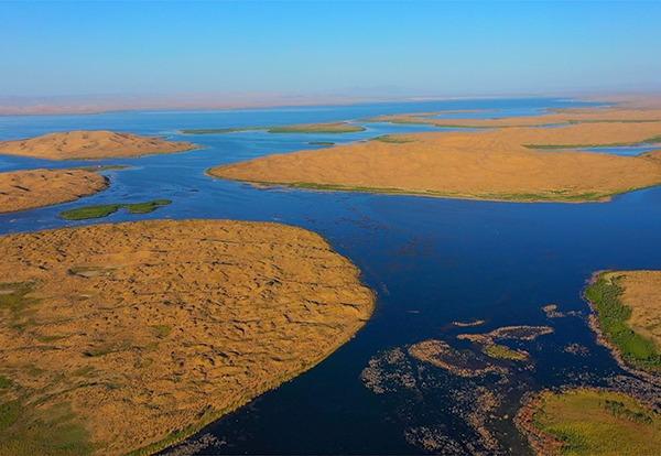 Largest inland freshwater lake in China embraces autumn:0