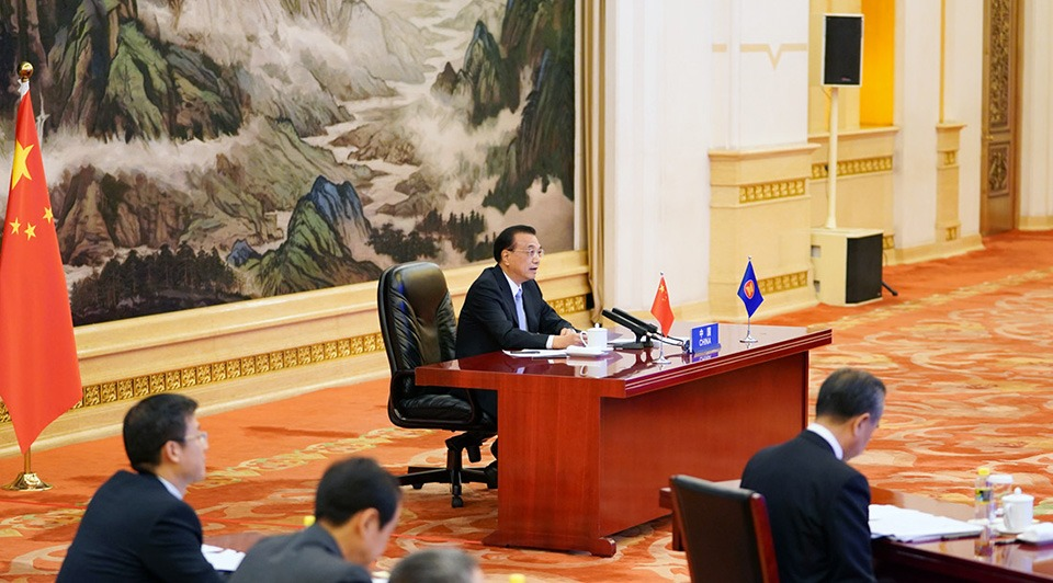 Premier Li urges further cooperation, sustainable development to counter challenges amid COVID-19:1